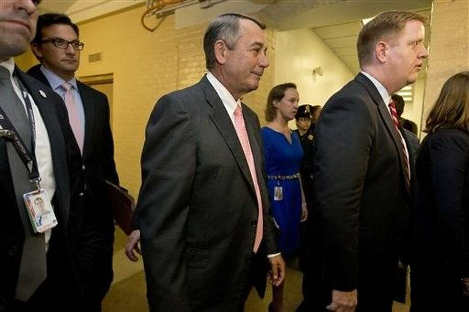In a stunning move, House Speaker John Boehner of Ohio informed fellow Republicans on Friday that he would resign from Congress at the end of October, giving up his top leadership post and his seat in the House in the face of hardline conservative opposition. Photo: Jacquelyn Martin