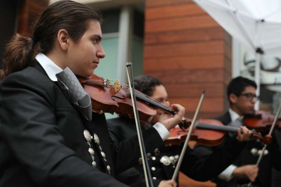 Pasadena resident Nikolas Reyna, age 14, recently performed at GreenStreet in downtown Houston with the HSPVA Mariachi band to celebrate Nation Hispanic Heritage Month.