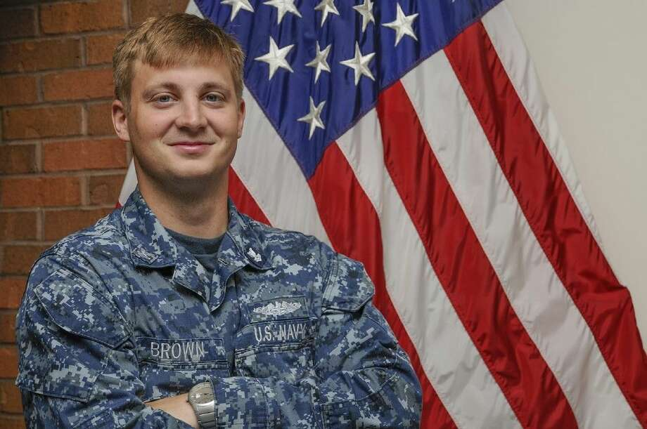 Petty Officer 2nd Class Lucas Brown is a 2010 Pasadena Memorial High School graduate. Photo courtesy U.S. Navy.