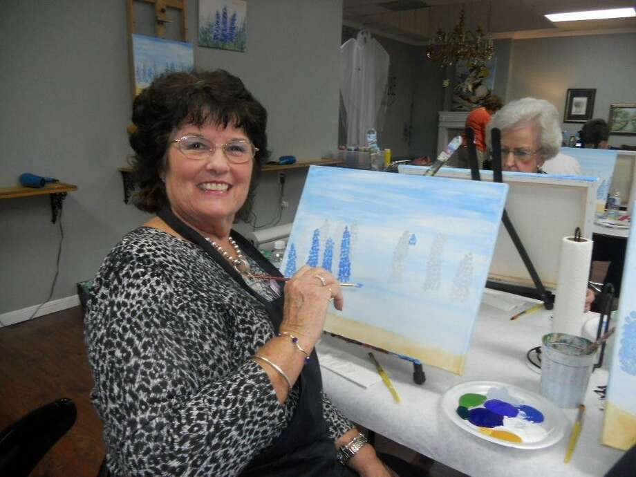Painting will be one of the many fun activities to come in the new season of the Woman's Club of Missouri City.