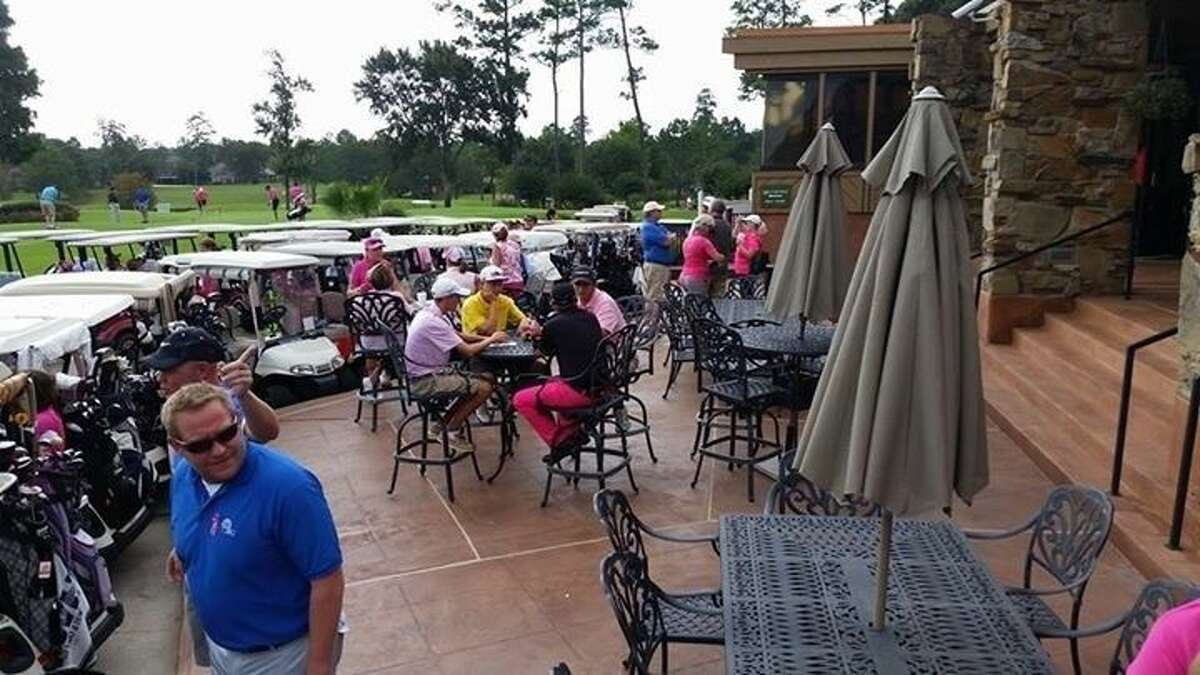 The Play for PINK golf tournament turned out to be a great success despite the rainy weather and being rained out after four holes on Monday, Oct. 13.
