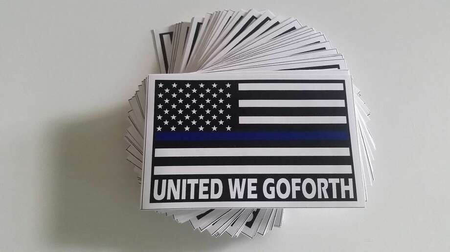 United We Goforth decals are available to purchase at Texas Direct Auto locations in the Houston area. All proceeds of the sales will go the Goforth's family.