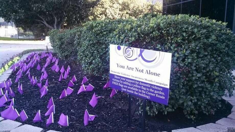 The Memorial Garden is a place of remembrance to honor those women and the families that suffered their loss. It will officially open on Oct. 1 at 8 a.m. with a moment of silence and placement of purple memorial flags to represent these women and their stories. The Memorial Garden is located in front of the main NAM building at 15555 Kuykendahl Road in Houston. Photo: Submitted
