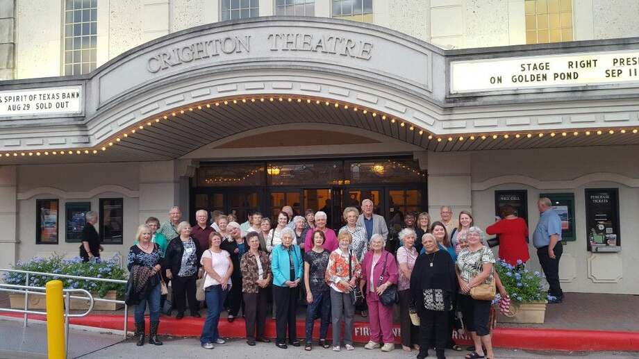 "Members of Tomball Regional Medical Center's Senior Circle program traveled to the Crighton Theatre in downtown Conroe on Sept. 11 to watch a stage production of ""On Golden Pond."" Photo: Submitted"