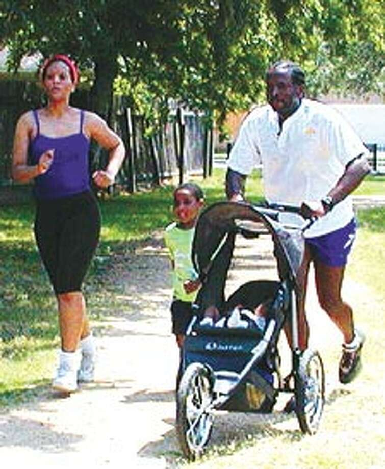 The family that runs together