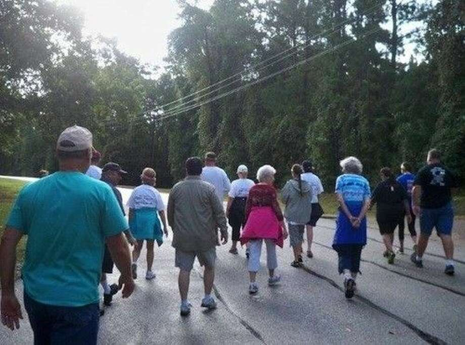 Twenty-eight people participated in the Coldspring Area Public Library's Fun Walk. Photo: Submitted