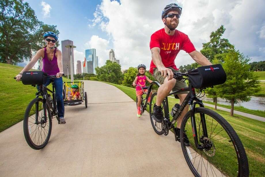 Buffalo Bayou Partnership announced a five-year exclusive partnership with Bike Barn - a Houston-based bike retailer servicing the biking community since 1983 - and Bayou City Adventures - a popular provider of outdoor recreational equipment and services - to begin offering bicycles, canoes, and kayaks for rent along Buffalo Bayou between Shepherd Drive and Fannin Street.