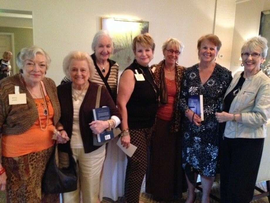 The Delphian Tomball chapter recently enjoyed lunch with author Lin Wilder. Photo: Submitted Photo