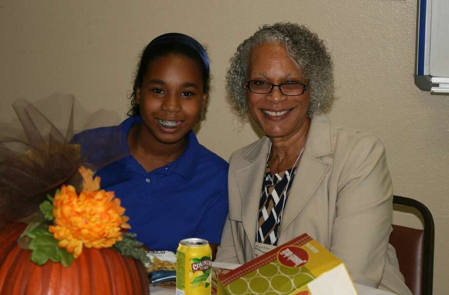 Providence Classical students were able to share lunch with their grandparents and special guests. Photo: Submitted