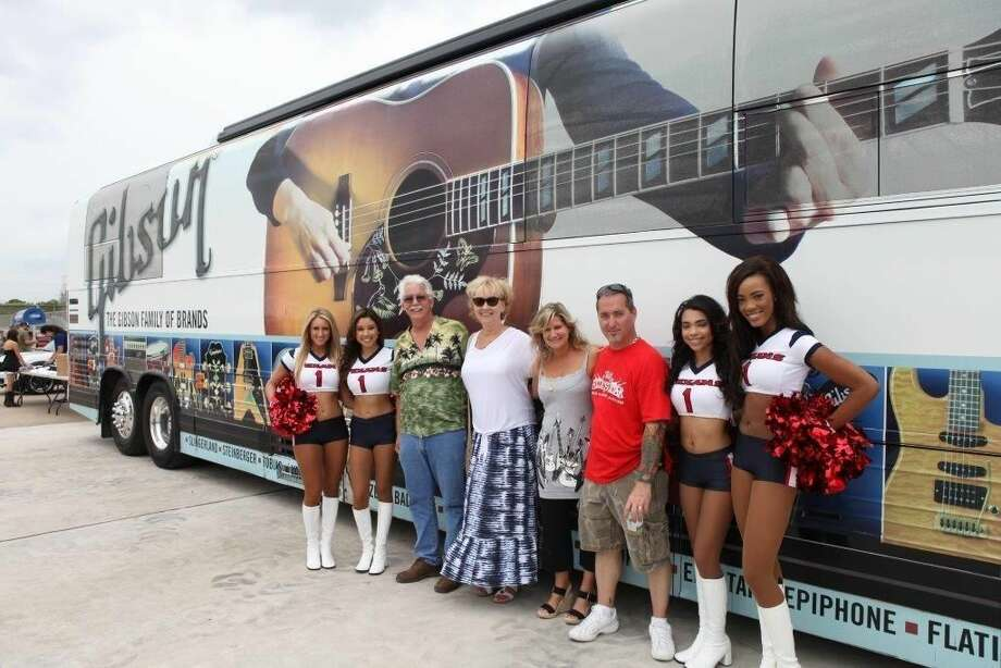 Visitors will get the rare chance get on board a larger than life Gibson Tour Bus, luxury transport of celebrities and rock stars alike.