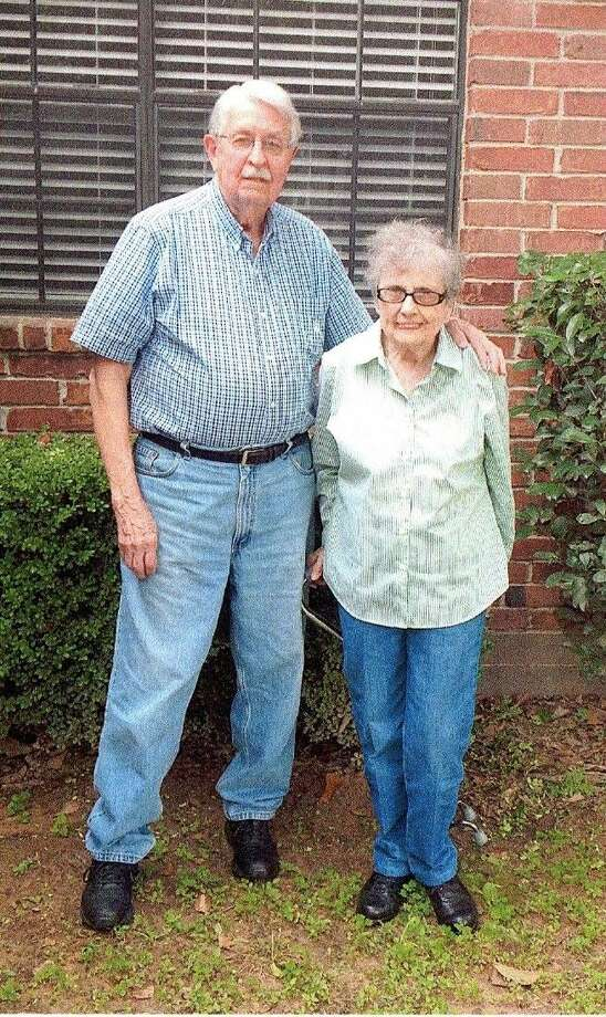 Tomball residents John and Betty Dyck are donating quilts created by John Dyck's mother, Elizabeth Peters Dyck. The Texas Mennonite Sale and Auction are the beneficiary of the donation. Photo: Submitted Photo