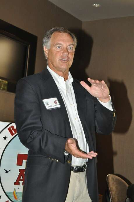Skip Wagner, the former President and CEO of the 12th Man Foundation was the speaker at the October Bay Area A&M Club. Photo: Jackie Welch
