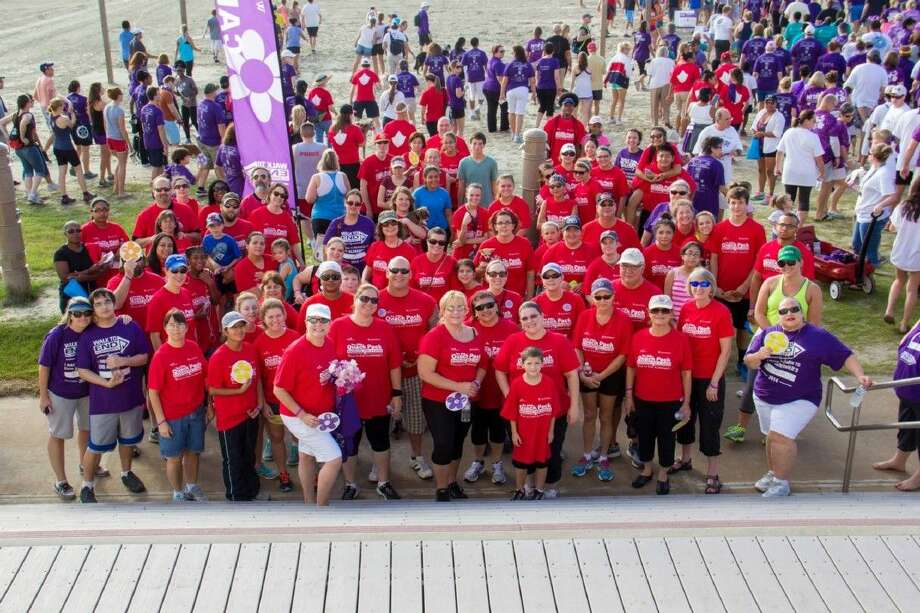 The College of the Mainland Quack Pack of students, staff and friends became the top company team during the Galveston Walk to End Alzheimer's - raising $7,302.73 to search for a cure.