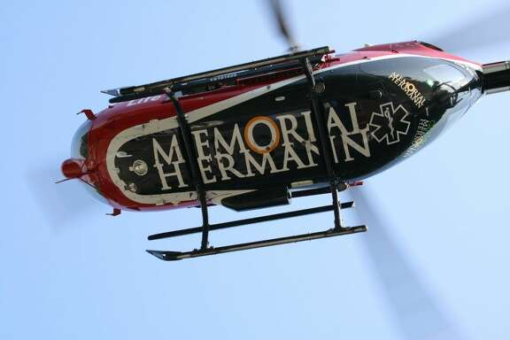 Two patients were airlifted in critical condition to Memorial Hermann Hospital in Houston Wednesday afternoon following a three-vehicle accident east of Moss Hill on SH 105 at CR 2077.