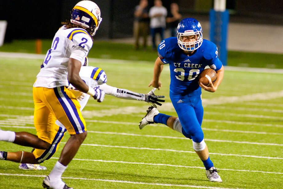Can Luke Allen and Cy Creek win out and make the playoffs? The Cougars are No. 6 this week in the power rankings and could move up by next week. Photo: Tony Gaines/HCN