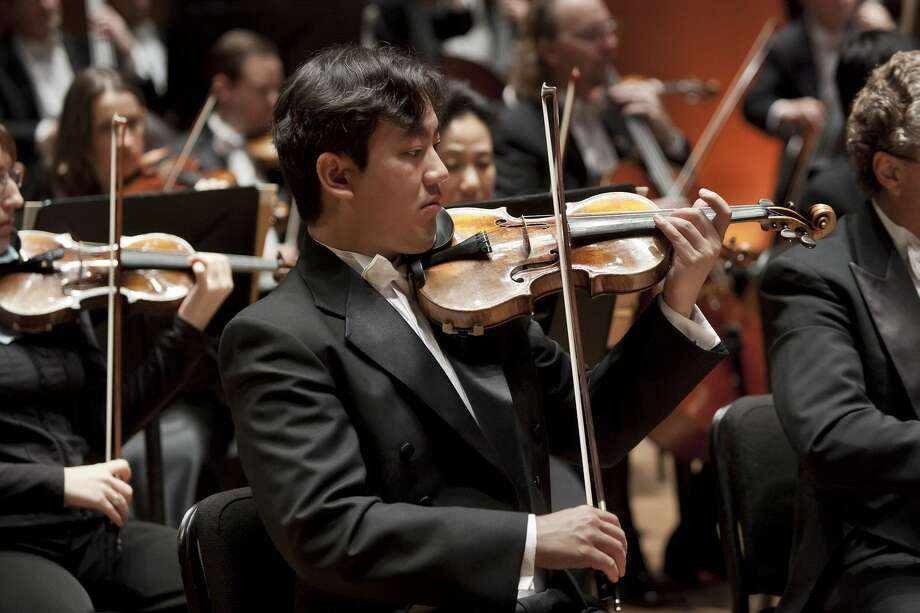 At 8 p.m. on Nov. 12 and 14, Frank Huang will lead from the concertmaster's chair on Dvořák's Serenade for Strings.