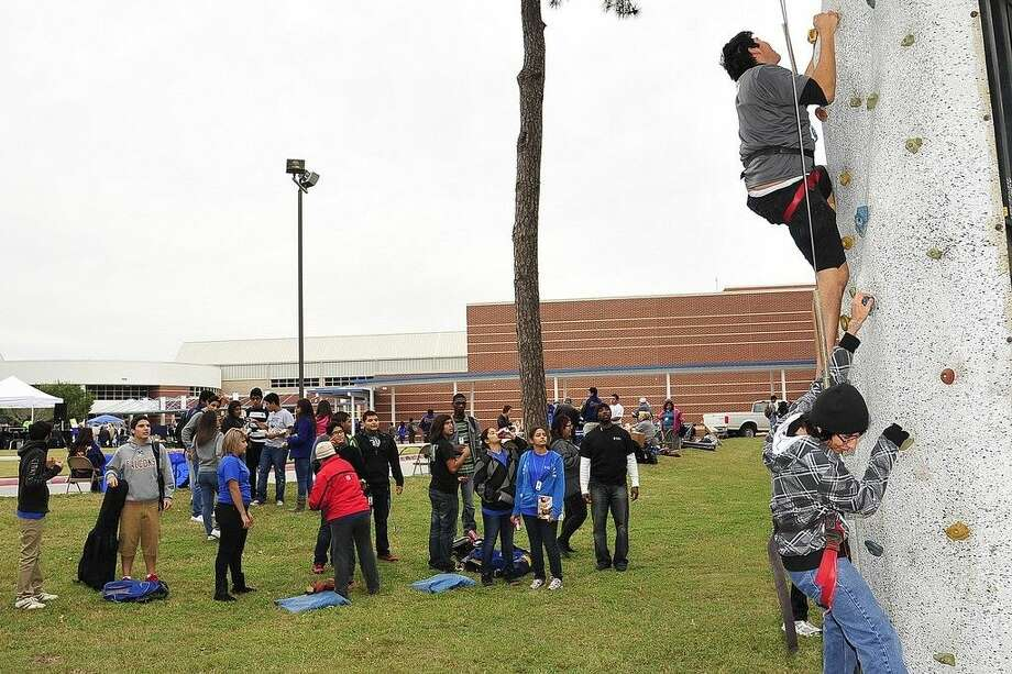 Hundreds attended San Jacinto College's fall fest that was held last autumn at Channelview High School (shown in photo above). The College will host a similar fall fest at C.E. King Middle School on Oct. 28. Photo credit: Rob Vanya, San Jacinto College marketing, public relations, and government affairs department.