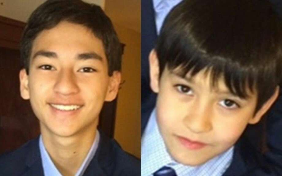Sage Cook (left) and his brother, Isaac Cook, were last seen on Friday, August 28, 2015, at the Los Angeles International Airport (LAX) in Los Angeles, Calif. Photo: Submitted