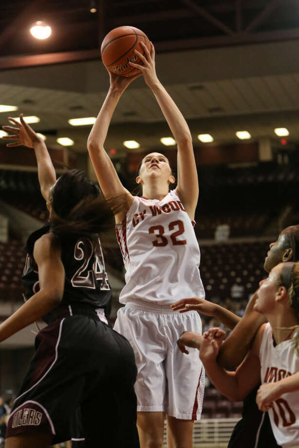 Cy Woods' Nancy Mulkey committed to Oklahoma on Wednesday. Photo: Michael Minasi/HCN/FILE PHOTO