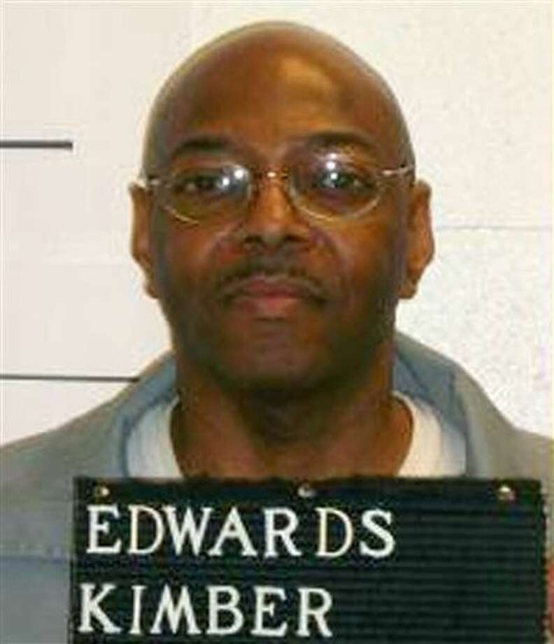This photo provided by the Missouri Department of Corrections shows Kimber Edwards. The former St. Louis jailer was convicted of hiring Orthell Wilson to kill his ex-wife, Kimberly Cantrell, in 2000 in her suburban St. Louis apartment. Photo: HOGP