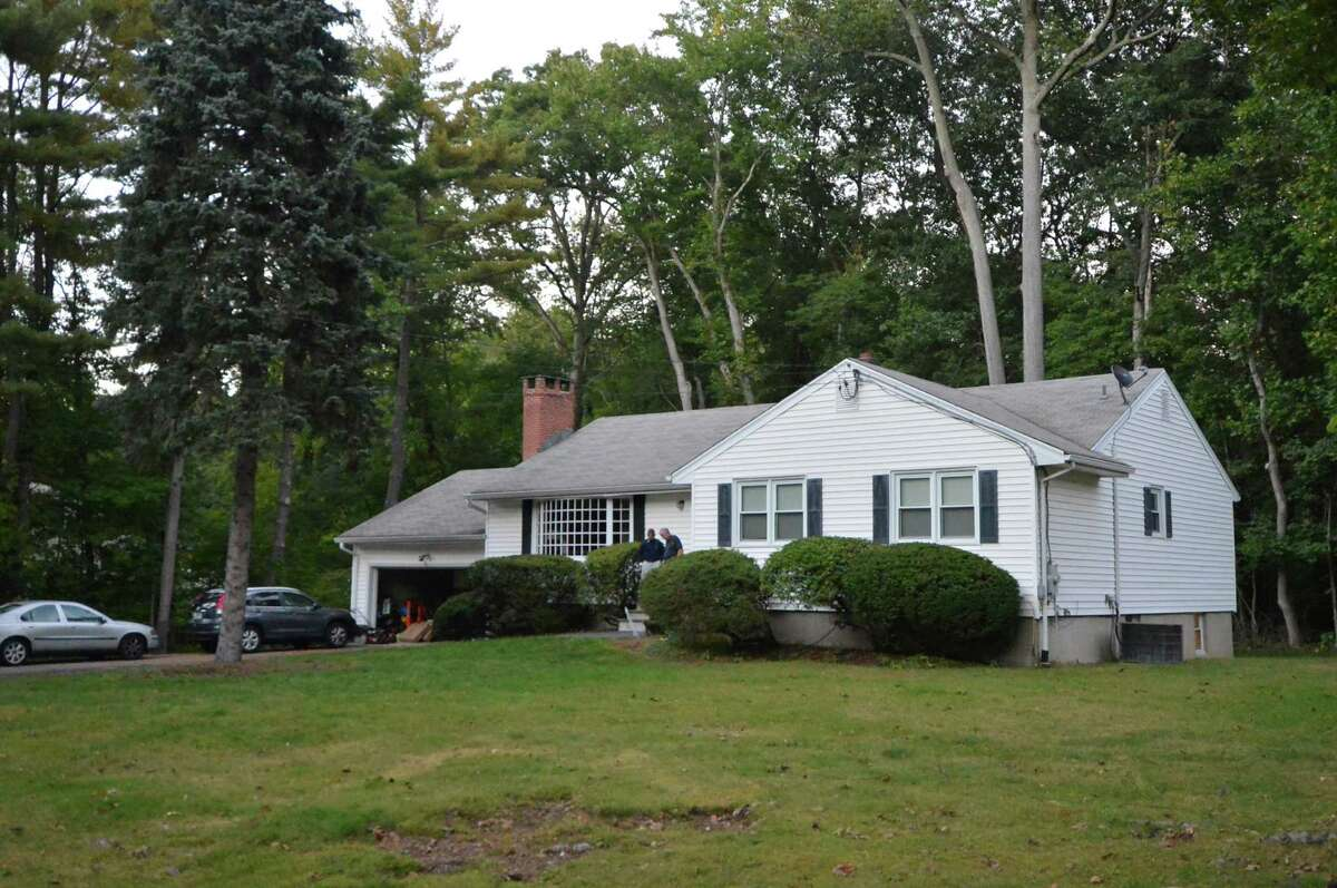 A house on Hunters Lane where authorities are investigating the death of a 4-year-old at a home day care facility on Wednesday, Oct. 5 in Norwalk.