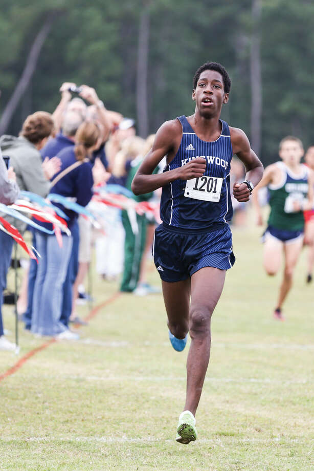 Kingwood's Charles Mills competes in the 16-6A District Cross Country Meet on Thursday, Oct. 23, 2014, at Atascocita High School. Photo: Michael Minasi