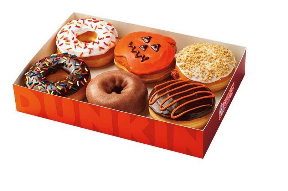 Halloween is fast approaching and Dunkin' Donuts is keeping guests and ghosts alike running through the holiday with the return of the Boston Scream Donut. Photo: Jim Scherer