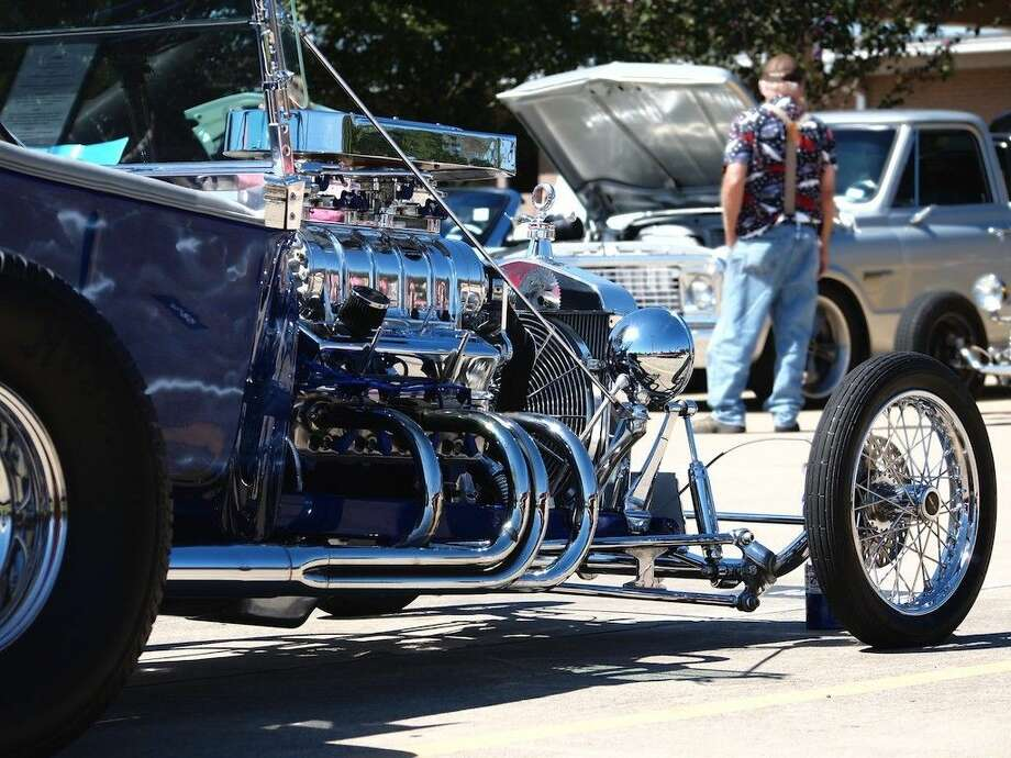 The Dayton Car Show was held at the community center on Saturday, Oct. 3, sponsored by the Dayton Chamber of Commerce. Photo: Casey Stinnett