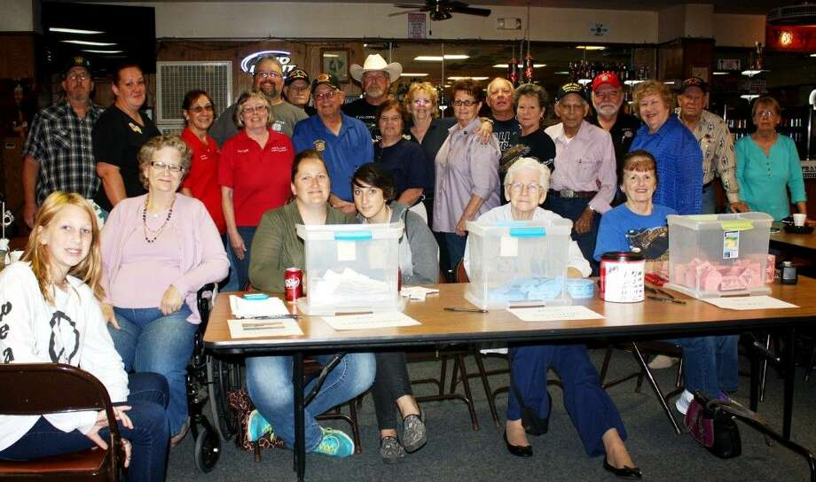 Volunteers and supporters were on hand during the fundraising event at VFW Post 1839, which was held on Saturday, Oct. 3. Photo: Stephanie Buckner