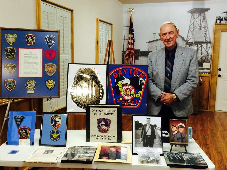 Liberty County Sheriff's Office Captain and former Dayton Police Chief Ken DeFoor was the guest speaker for the September meeting of the Dayton Historical Society. Photo: Submitted