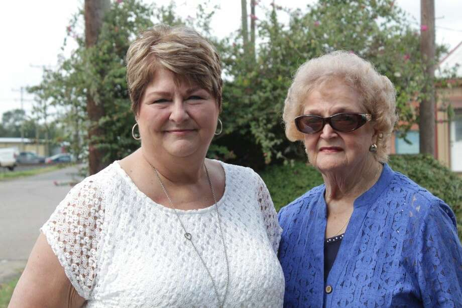 Mother and daughter Regina Pressler and Vera Acrey have both experienced breast cancer. They are from the Conroe area.