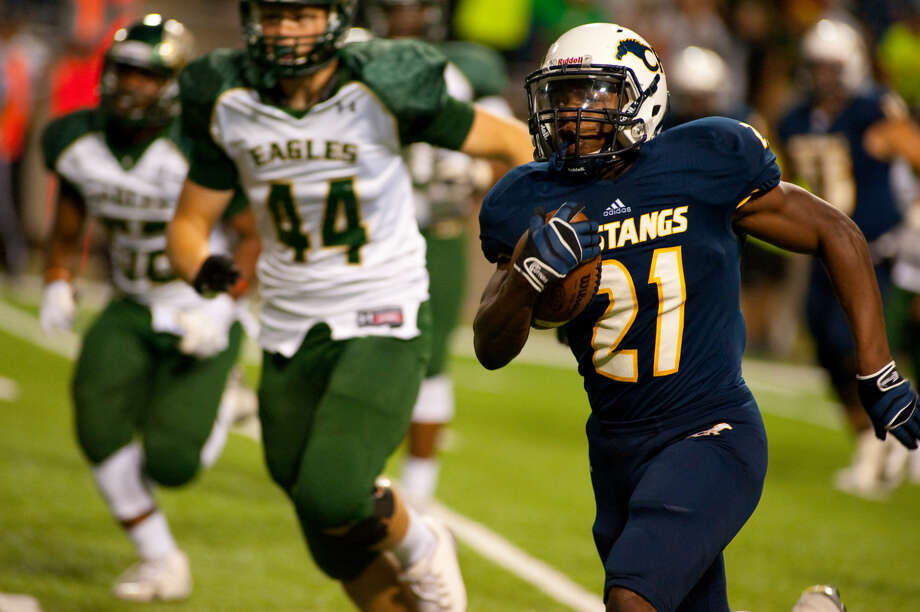 Cy Ranch's Charlie Booker (21)  Photo: Tony Gaines/HCN/FILE PHOTO
