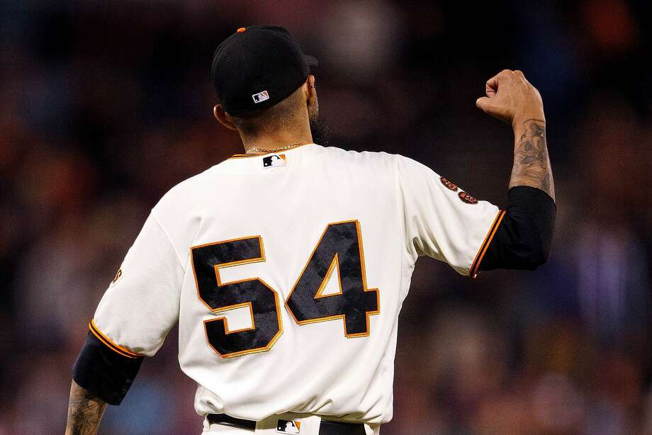 SAN FRANCISCO, CA - SEPTEMBER 29:  Sergio Romo #54 of the San Francisco Giants celebrates after the game against the Colorado Rockies at AT&T Park on September 29, 2016 in San Francisco, California. The San Francisco Giants defeated the Colorado Rockies 7-2. (Photo by Jason O. Watson/Getty Images) Photo: Jason O. Watson, Getty Images
