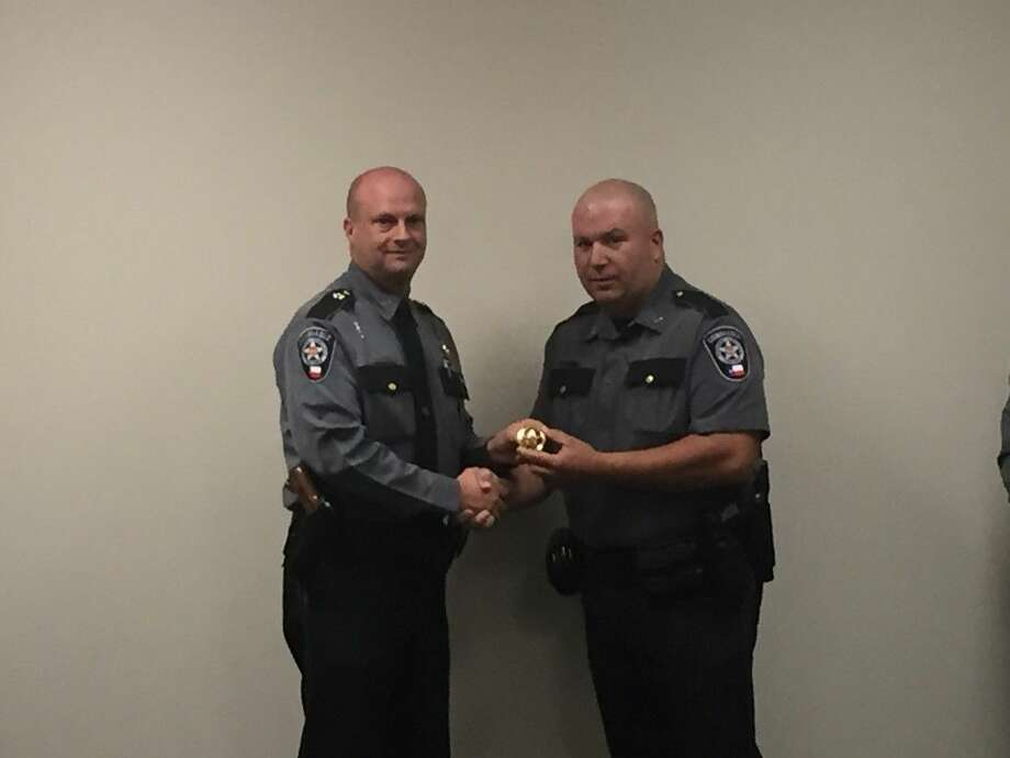 TJ Knox was promoted to Sergeant.