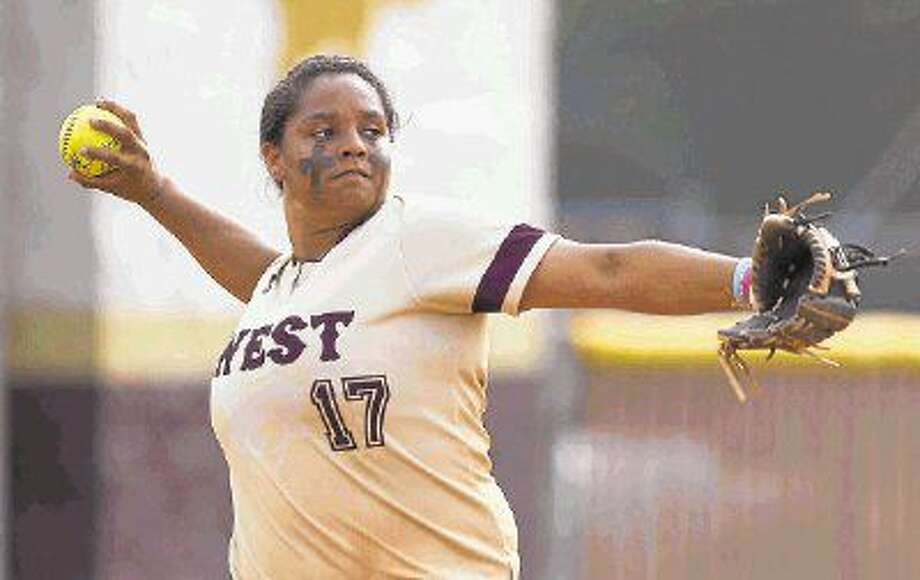 Magnolia West's Madison Washington was a first-team all-state selection by the Texas Sports Writers Association. Photo: Jason Fochtman