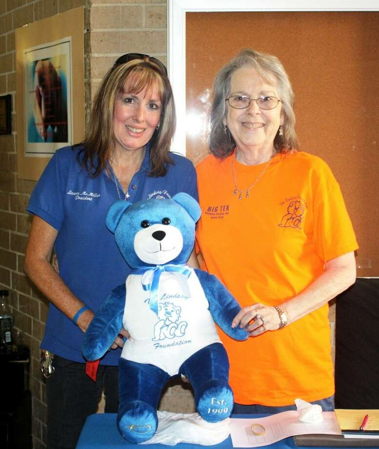 Laurie McMillan and her mother Helen, founders of The Lindsay Foundation, were on hand for the Ride for the Bear event, which was held on Saturday, Oct. 3. Photo: Stephanie Buckner