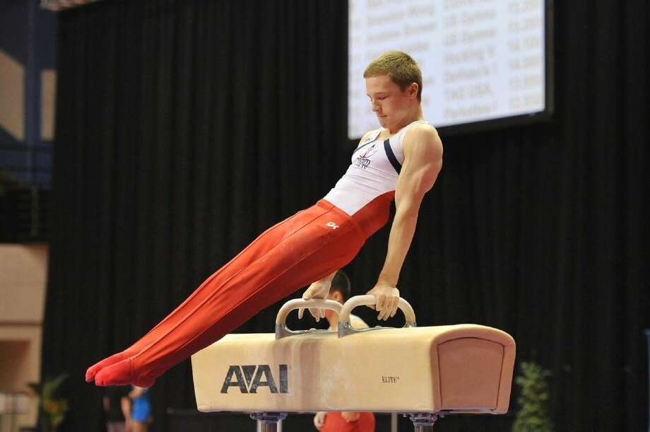 Jersey Village High School's Matthew Wenske has his sights set on competing with the U.S. Men's Olympic gymnastic team.