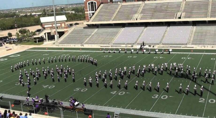 The Jersey Village High School marching band is one of 14 bands that will be featured at the first annual Battle at the Berry Marching Contest on Oct. 10 at the Berry Center.