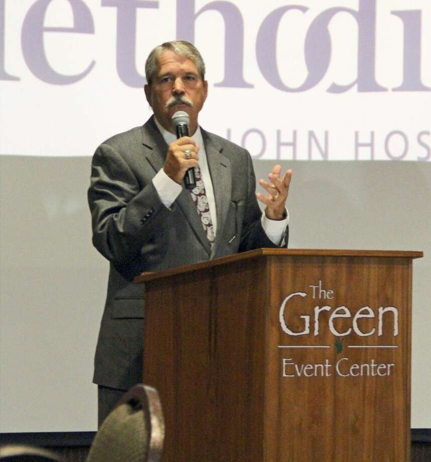 Senator Larry Taylor served as guest speaker at the Friendswood Chamber of Commerce General Membership Luncheon held Thursday (Oct. 1). Photo: Kristi Nix