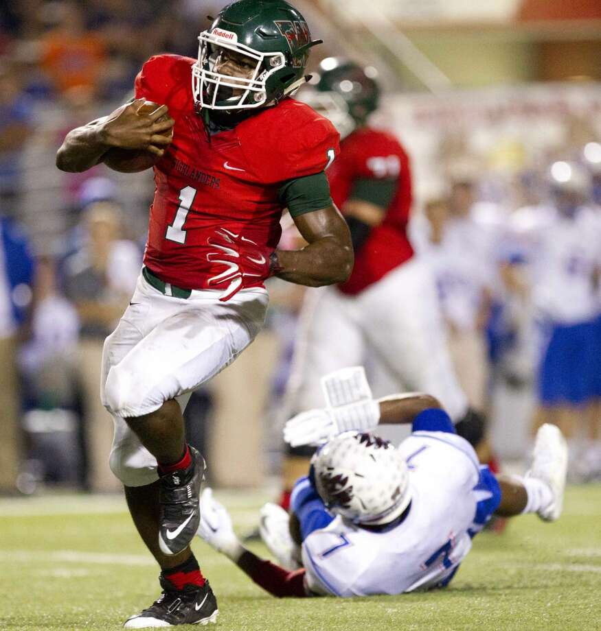 The Woodlands running back Patrick Carr is The Courier's Co-Offensive MVP. Photo: Jason Fochtman