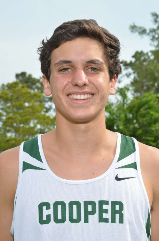 Cooper's Pedro Nasta is one of the top runners in the state.