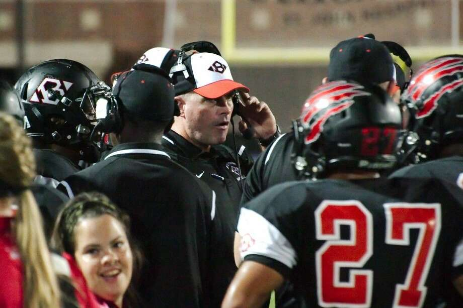 Clear Brook and head coach Mike Allison (above) looks for its first win of the season Friday against a Clear Lake team trying to keep its playoff hopes alive. Photo: KIRK SIDES