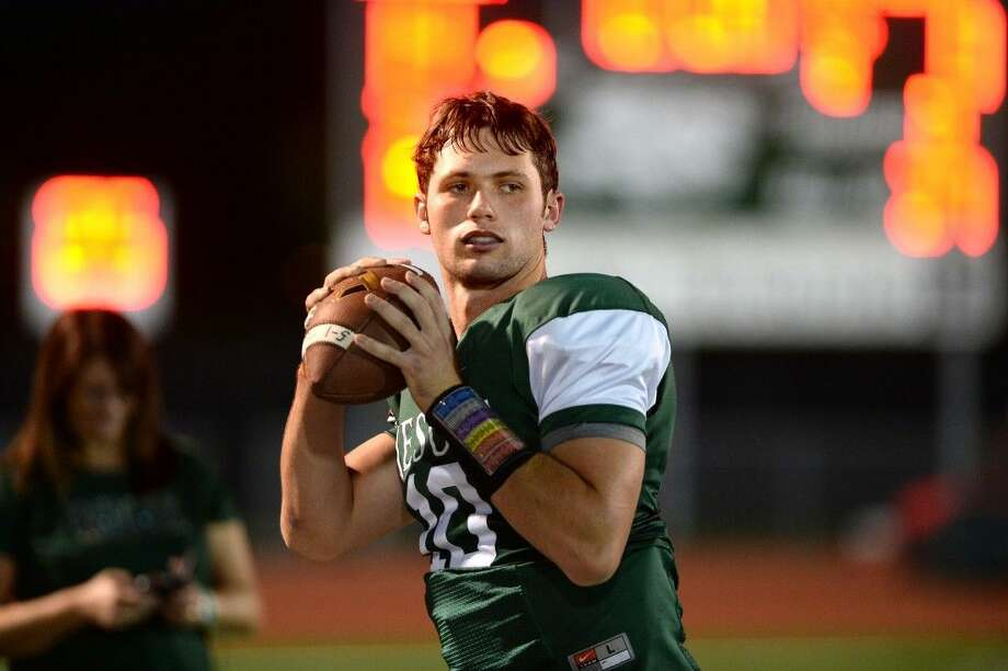Strake Jesuit quarterback Zach Zubia was named the Built Ford Tough Texas High School Player of the Week for Week 5 in the private school ranks. To view or purchase this photo and others like it, visit HCNpics.com. Photo: Craig Moseley