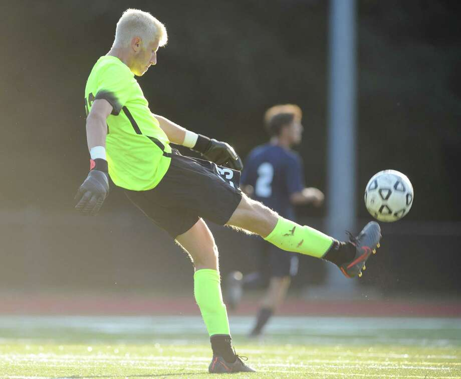 Photos from the high school boys soccer game between Greenwich and Staples at Greenwich High School in Greenwich, Conn. Monday, Sept. 26, 2016. The game ended in a 0-0 draw. Photo: Tyler Sizemore / Hearst Connecticut Media / Greenwich Time