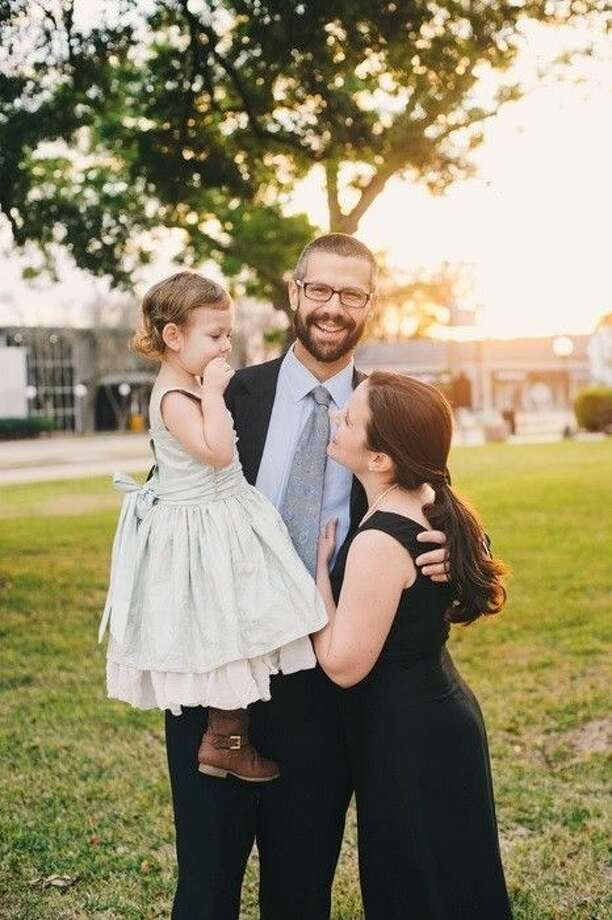 Liberty County Assistant District Attorney Matthew Poston is running for county attorney in the March 2016 Republic primary. He is pictured with his wife and high school sweetheart, Mary Elizabeth, and their daughter, 4-year-old Vivian. Photo: Submitted