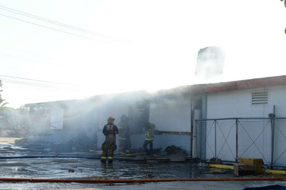 There were no iinjuries reported at the fire.