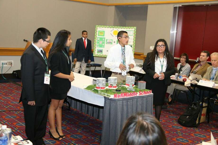 Null Middle School of Sheldon ISD won the recent international School of the Future competition.