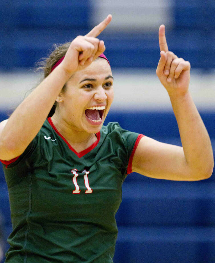 The Woodlands' Courtney Quinn was named to the Texas Girls Coaches Association's All-State team on Monday. Photo: Jason Fochtman