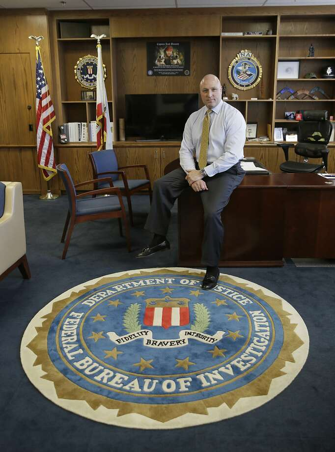 FBI Special Agent Jack Bennett is the bureau's new leader in San Francisco. He is a former drug investigator who developed expertise in technology. Photo: Eric Risberg, Associated Press