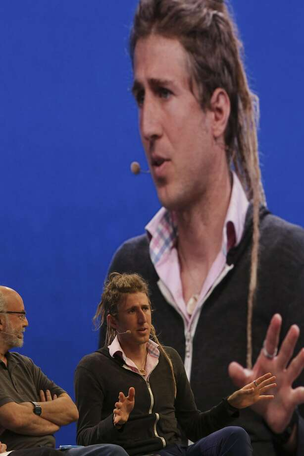 Moxie Marlinspike, founder of Open Whisper Systems, which makes a widely used encryption app, received a government subpoena for information associated with two phone numbers as part of a federal grand jury investigation in Virginia, speaks at an RSA Conference, an annual gathering of computer security experts, in San Francisco, March 1, 2016. Technology companies contend that court-imposed gag orders are being used too often by law enforcement and that they violate the Bill of Rights. (Jim Wilson/The New York Times) Photo: JIM WILSON, NYT